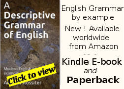 Descriptive English grammar