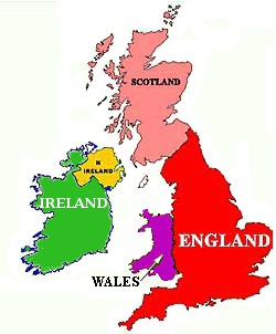 The regions of England