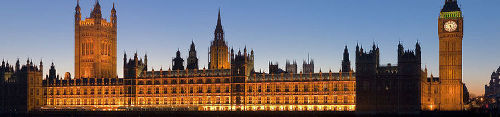 The British Parliament, London
